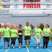 staff and volunteers completing Waterford Viking Marathon