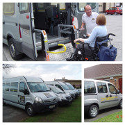 Door to Door accessible transport and accessible cars for loan