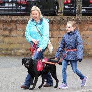 Assistance Dog Via and Aoife